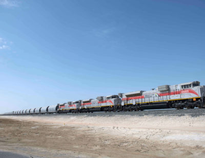 Etihad Rail Triples Its Fleet in Readiness of Stage Two