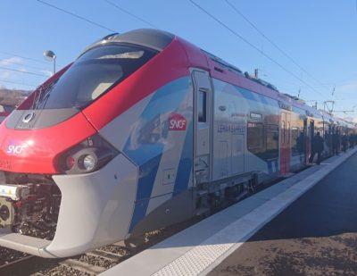Franco-Swiss CEVA Railway Line Opens