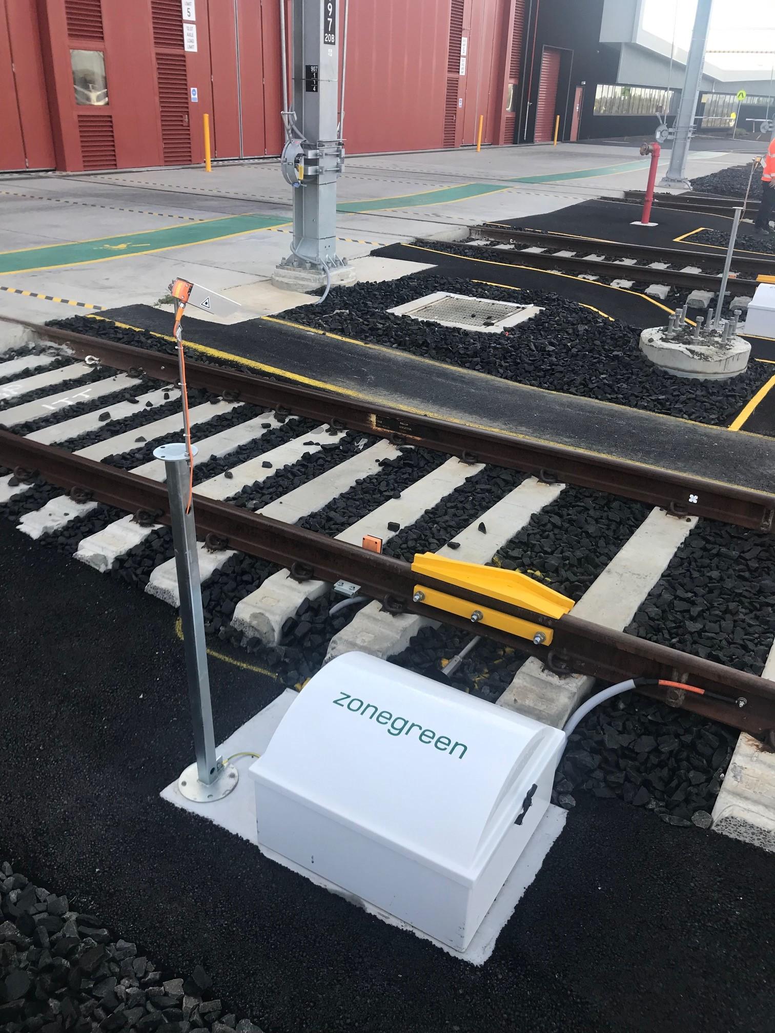 zonegreen derailer Australian depot