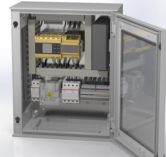 RS4 Rail Signalling Power Protection system