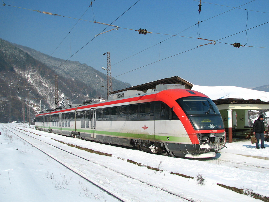 The Siemens Desiro EMU in Bulgaria is covered by Alstom's maintenance contract