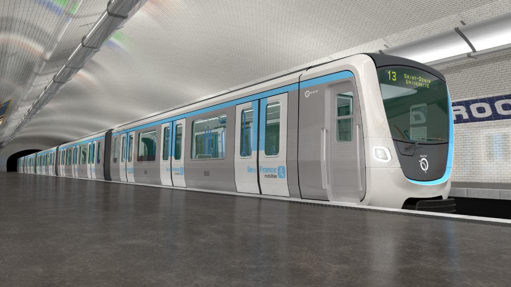 Alstom-Bombardier MF19 Metro for Paris