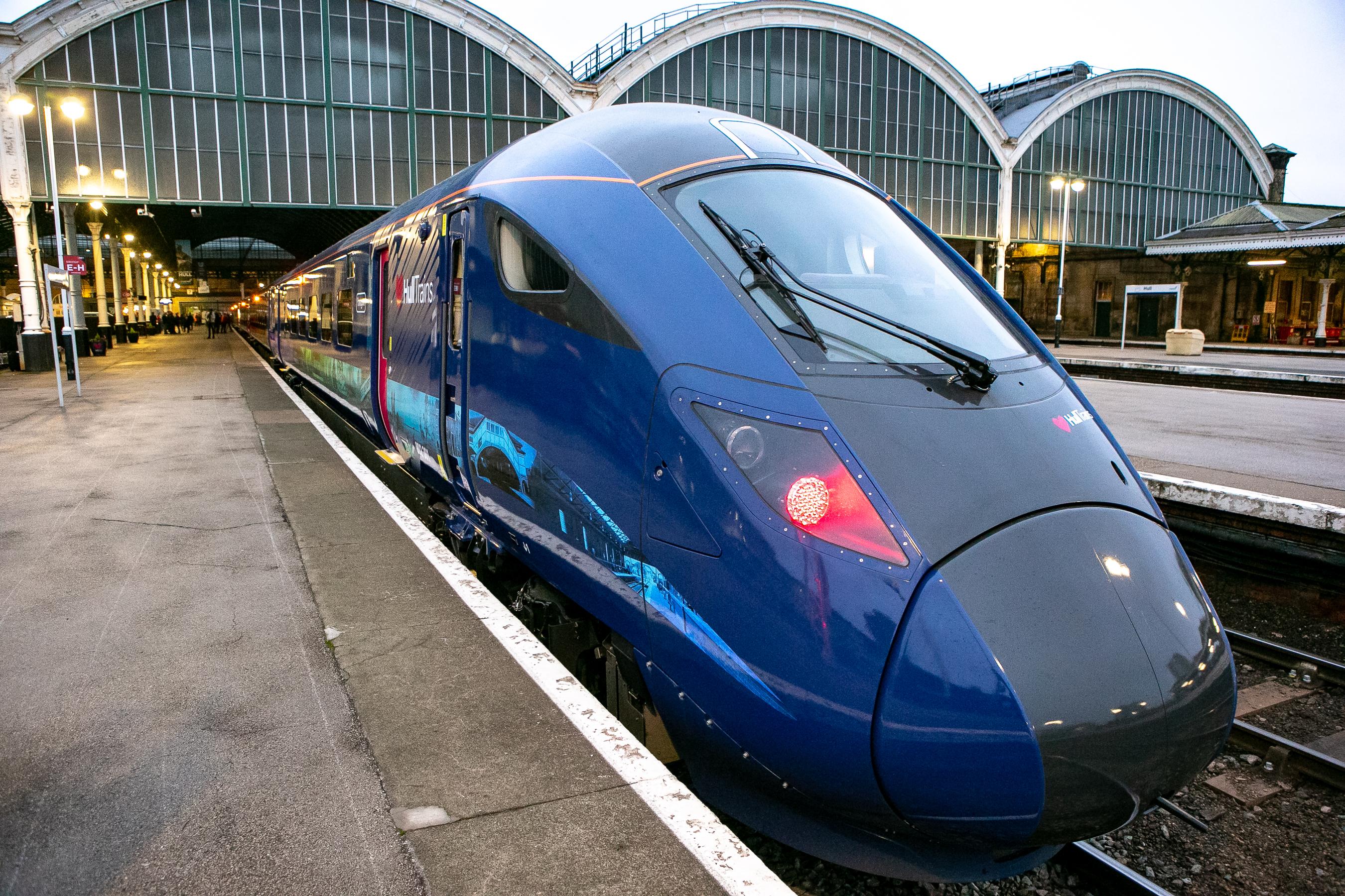 Class 802 Hitachi Paragon for Hull Trains