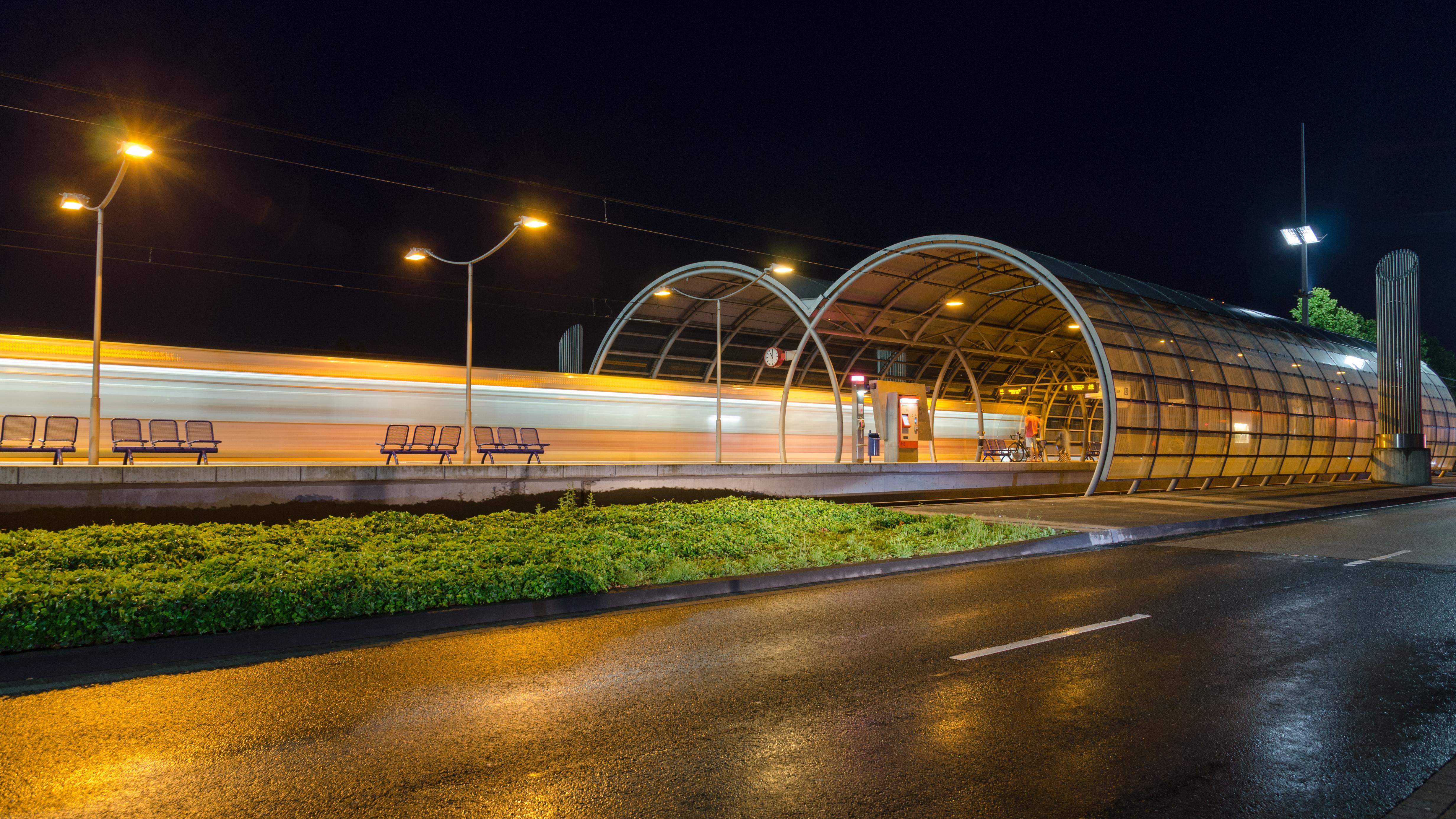 tram stop in Bonn