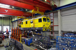 Retrofit for Rhaetian Railway Maintenance Vehicle