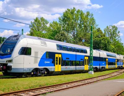 Stadler to Deliver Further 21 KISS Trains to Hungary