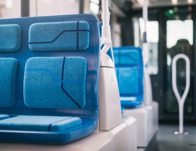Alstom Delivers First Citadis LRV with Lantal Fabrics for Paris T9 Line