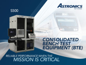 Astronics S500 Bench Test Equipment