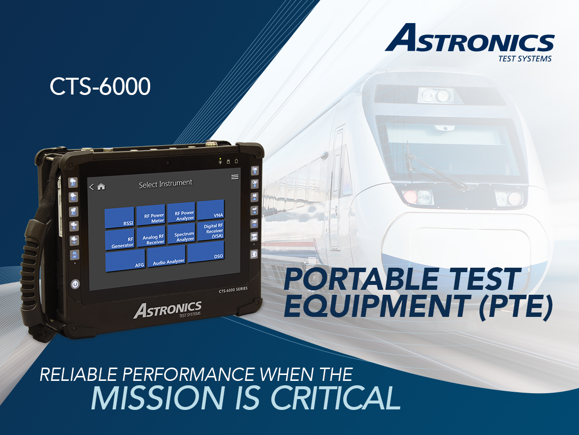 ASTRONICS Portable Test Equipment (PTE)
