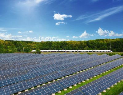 DB to Feed Solar Power Directly into Its Traction Network