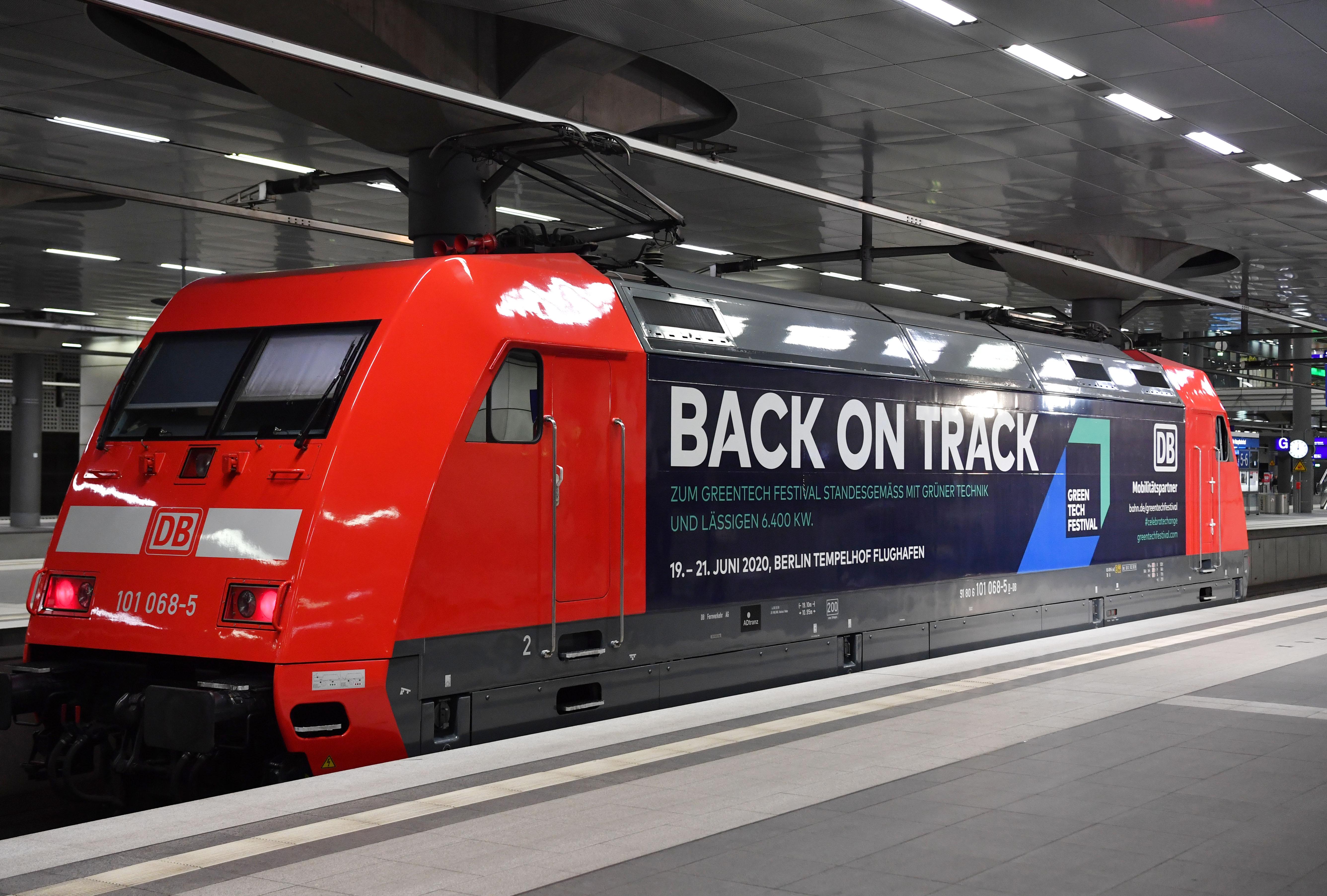 Deutsche Bahn Greentech Festival Locomotive