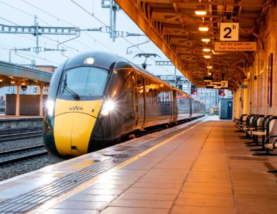 Electrification Between Bristol and Cardiff Complete