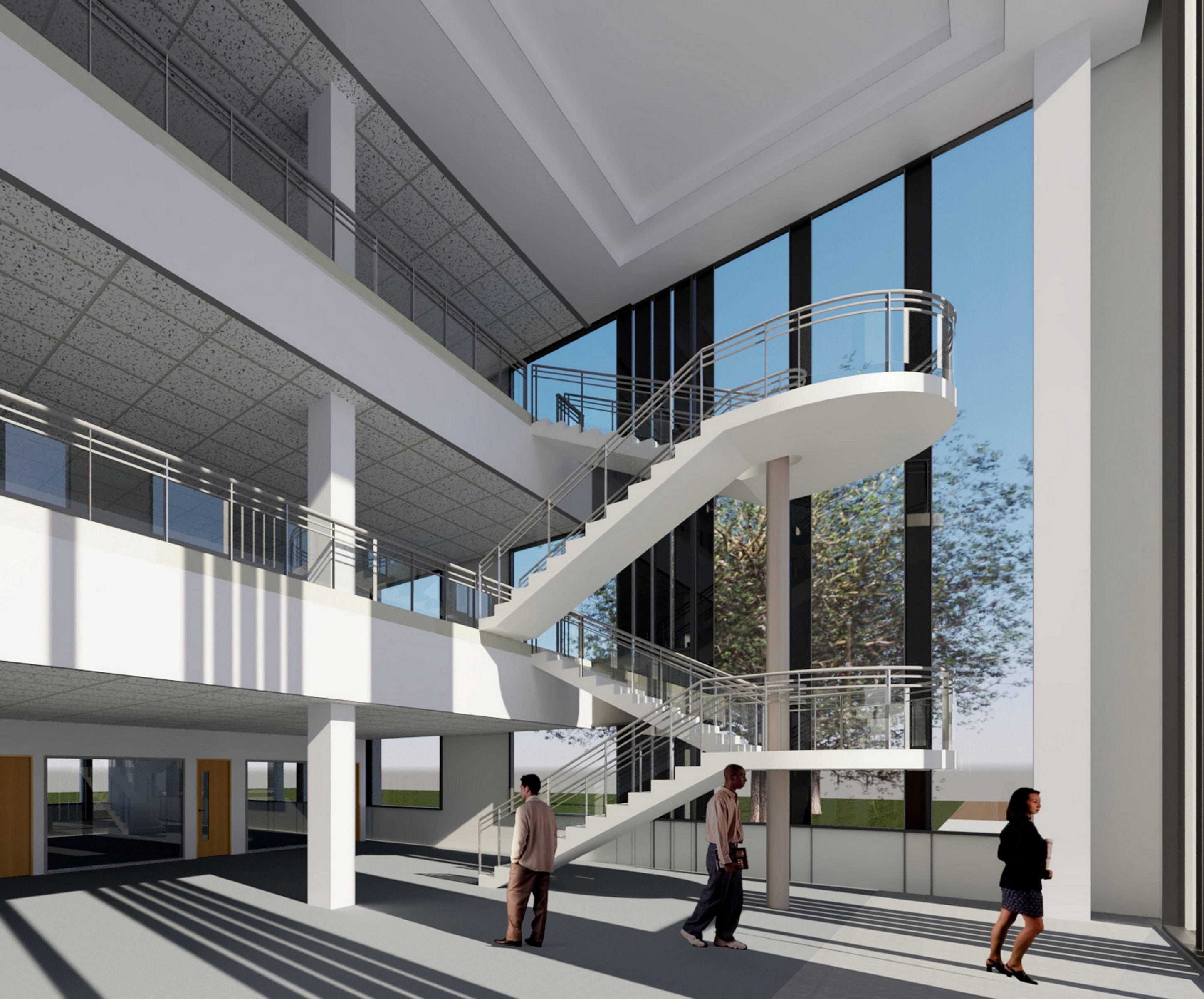 Siemens Mobility innovation centre interior