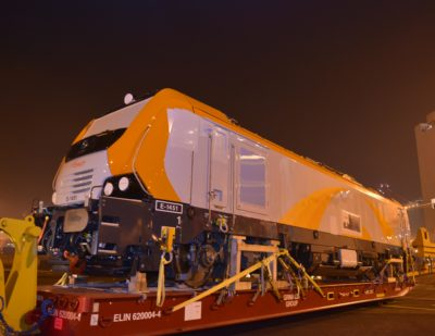 Alstom Delivers First Prima M4 Locomotive to Morocco