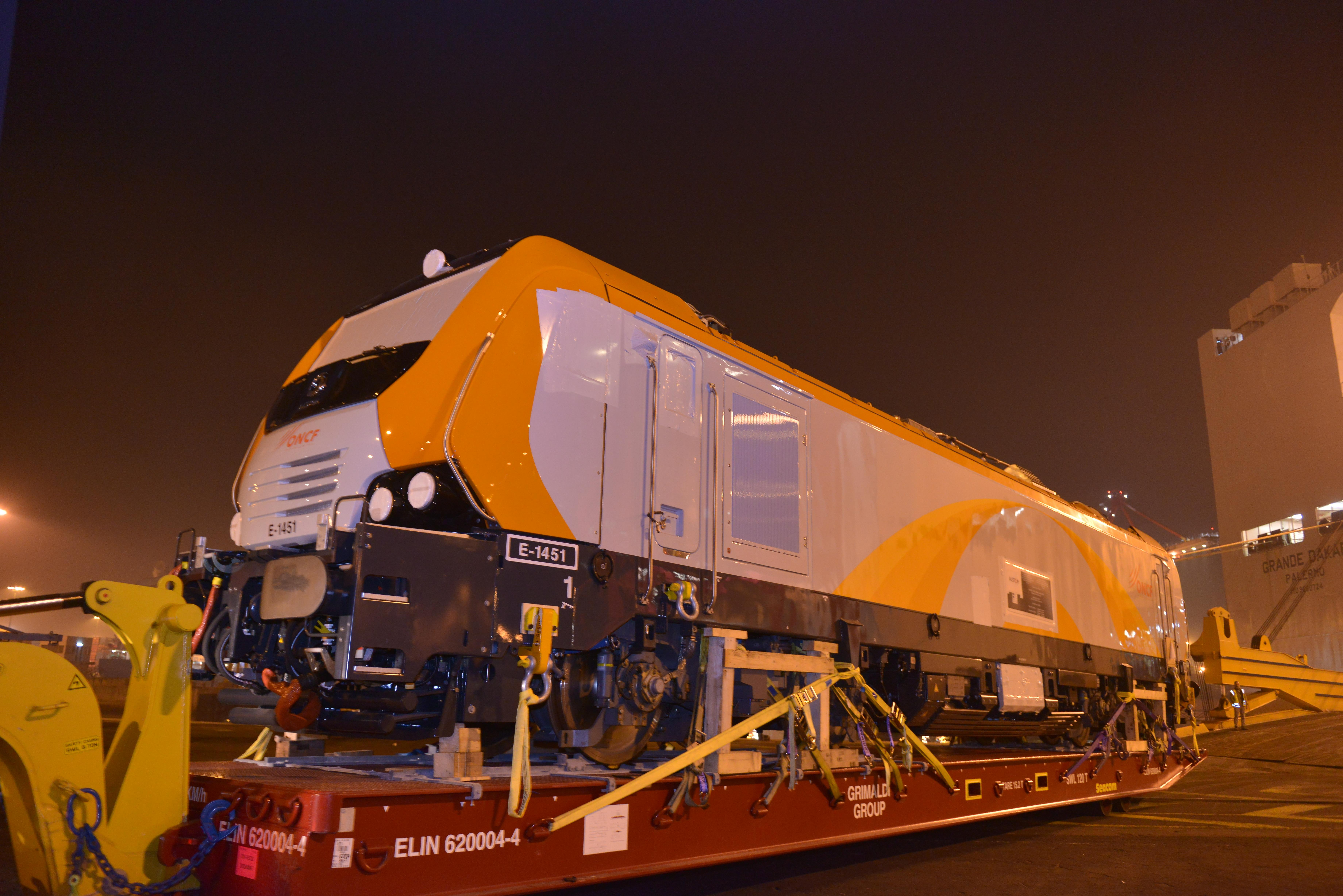 Alstom Prima M4 electric locomotive