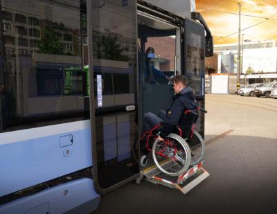 PALFINGER Casette lift for trams CL 300