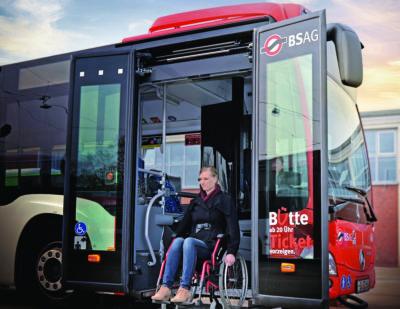 PALFINGER full automatic lift for buses LB 300
