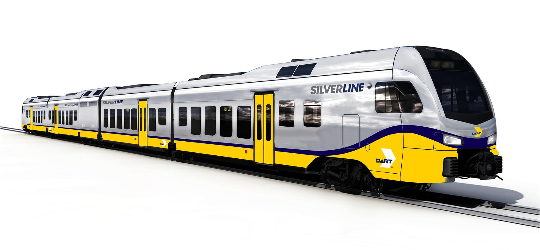 Stadler FLIRT Silver Line rendering