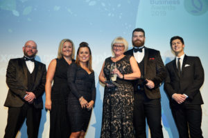 Unipart Rail Wins People Award at Doncaster Business Awards