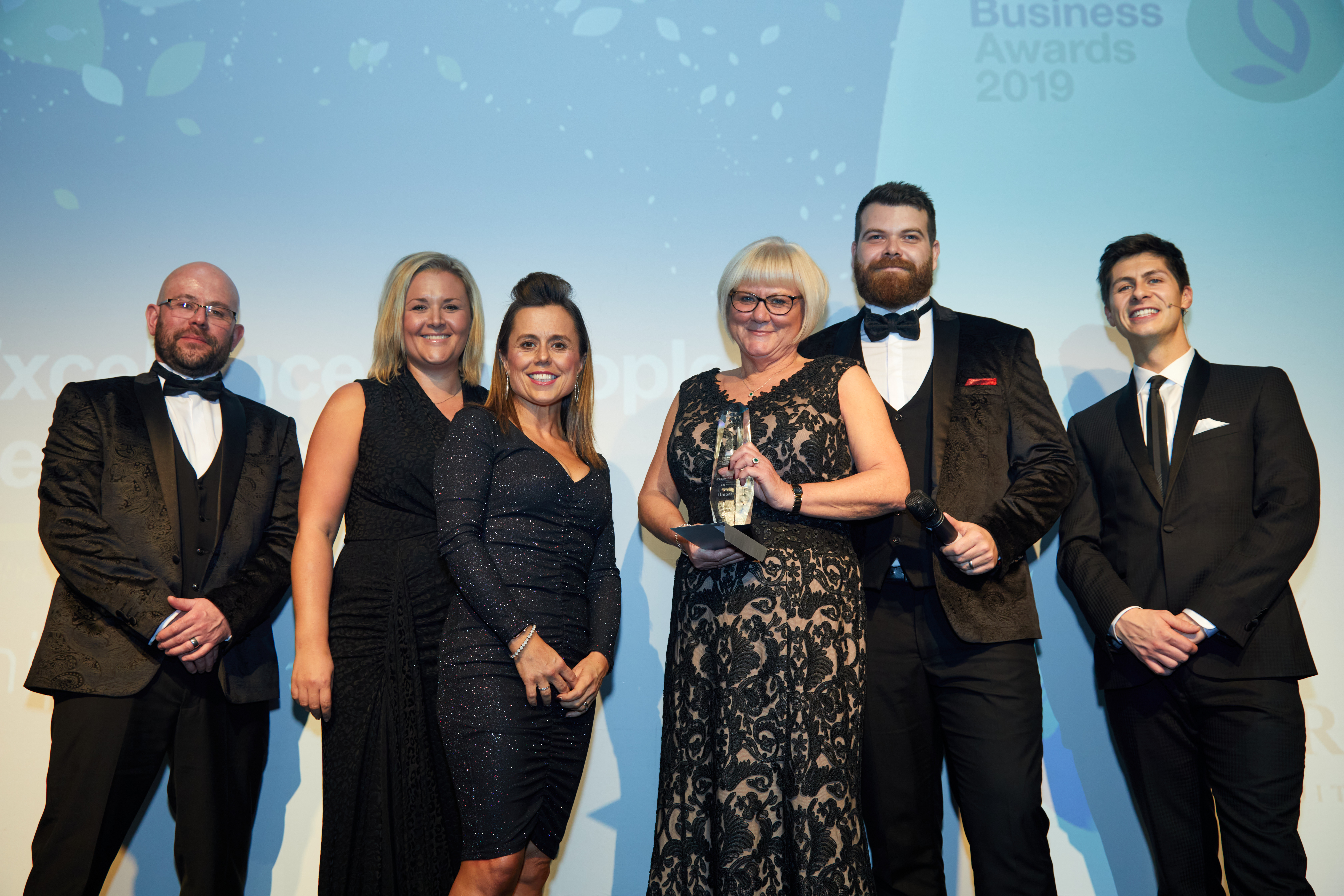 Unipart Rail at Doncaster Business Awards