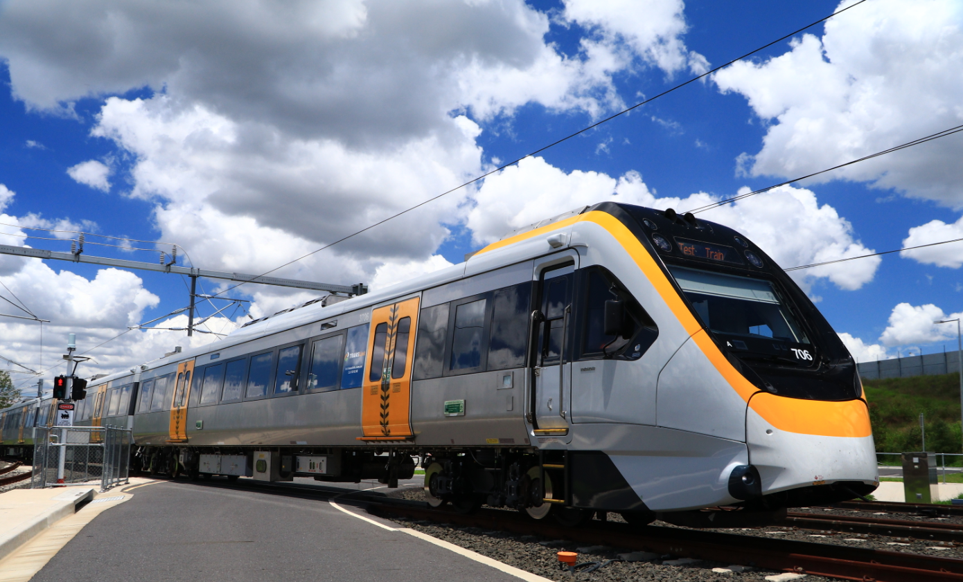 Bombardier New Generation Rollingstock train for Queensland