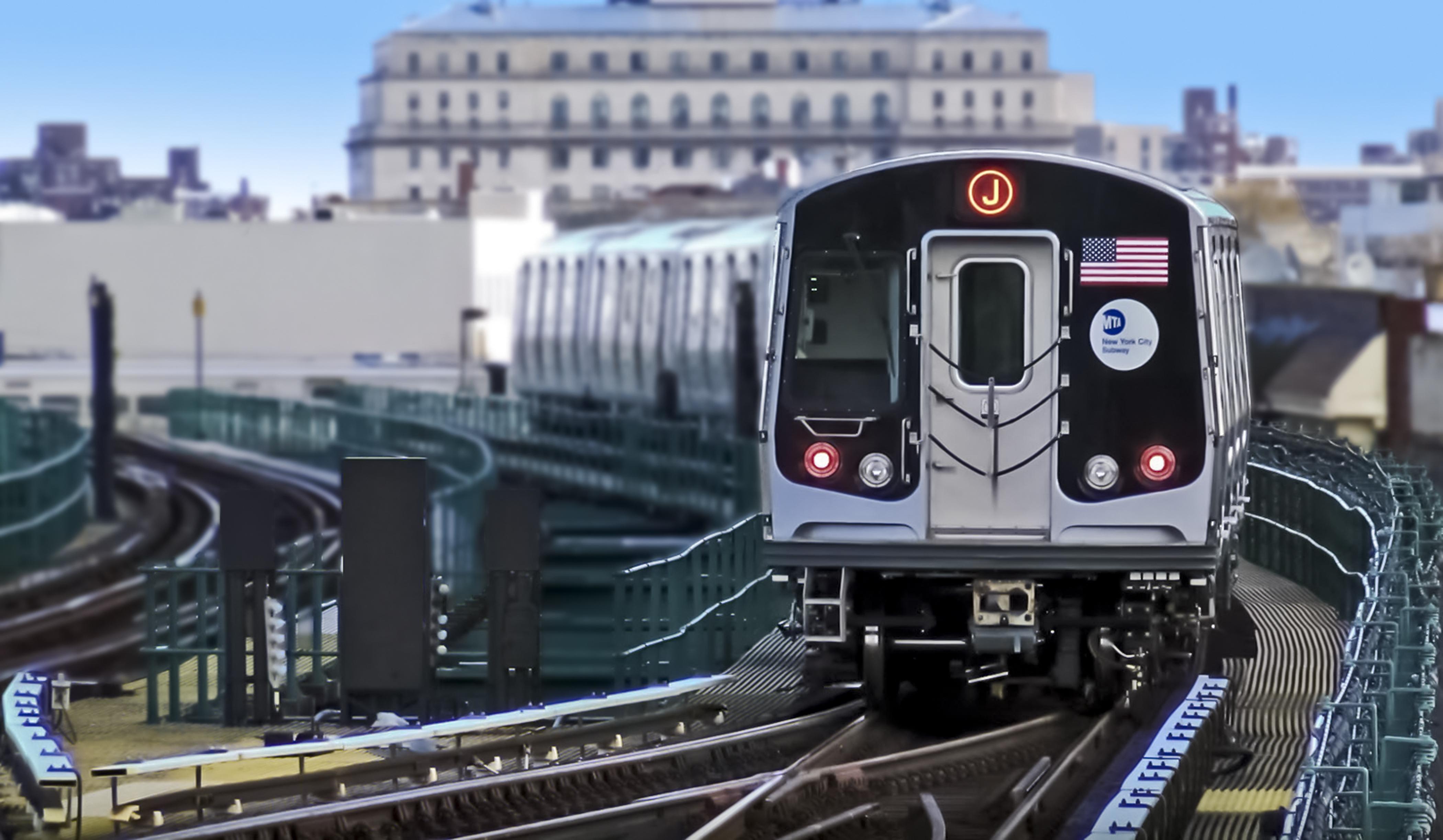 Bombardier R179 New York subway train