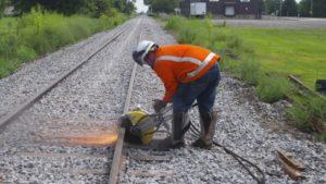Pandrol 03900A Reversing Rail Saw