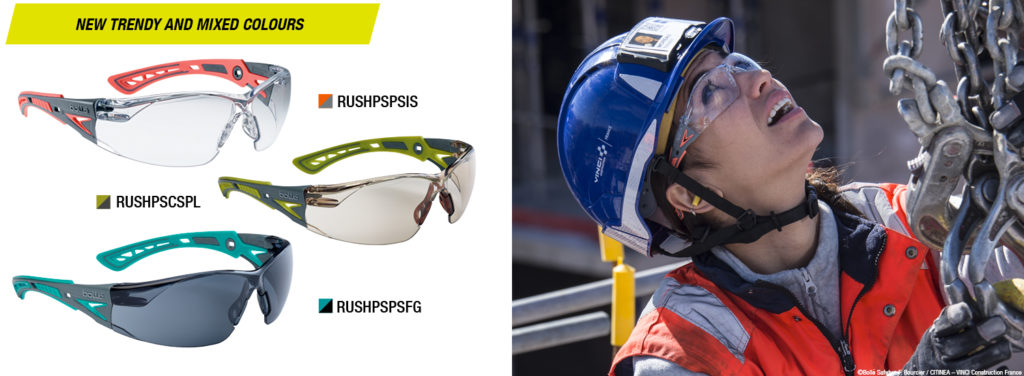 RUSH+ SMALL Safety Glasses