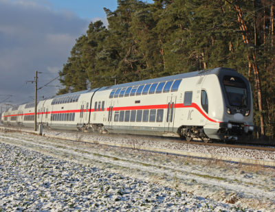 Deutsche Bahn Halts Acceptance of IC2 Trains
