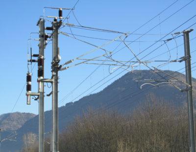 COELME-EGIC Bipolar VSV at catenary level on SNCF line