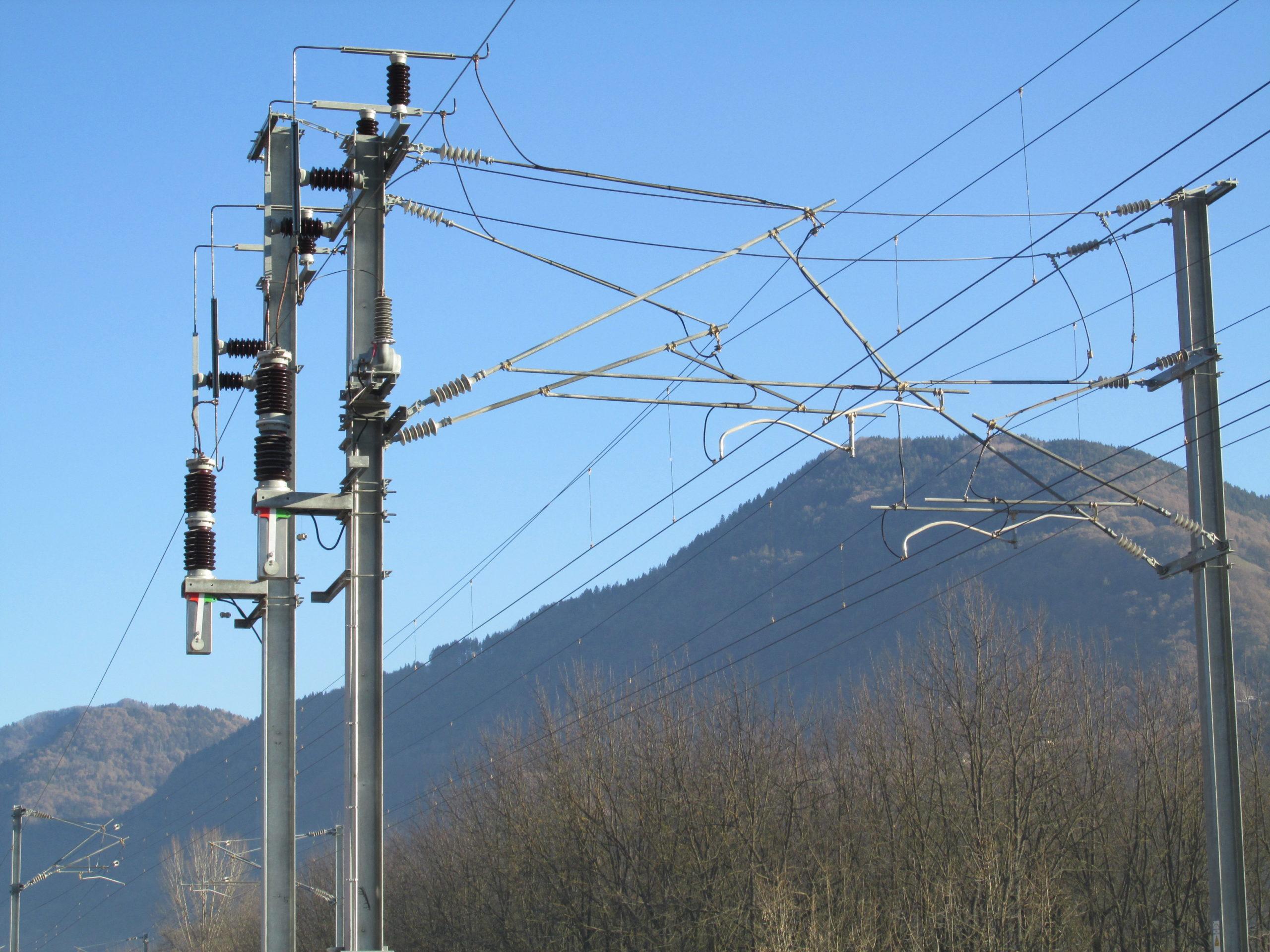 Bipolar VSV at catenary level on SNCF line