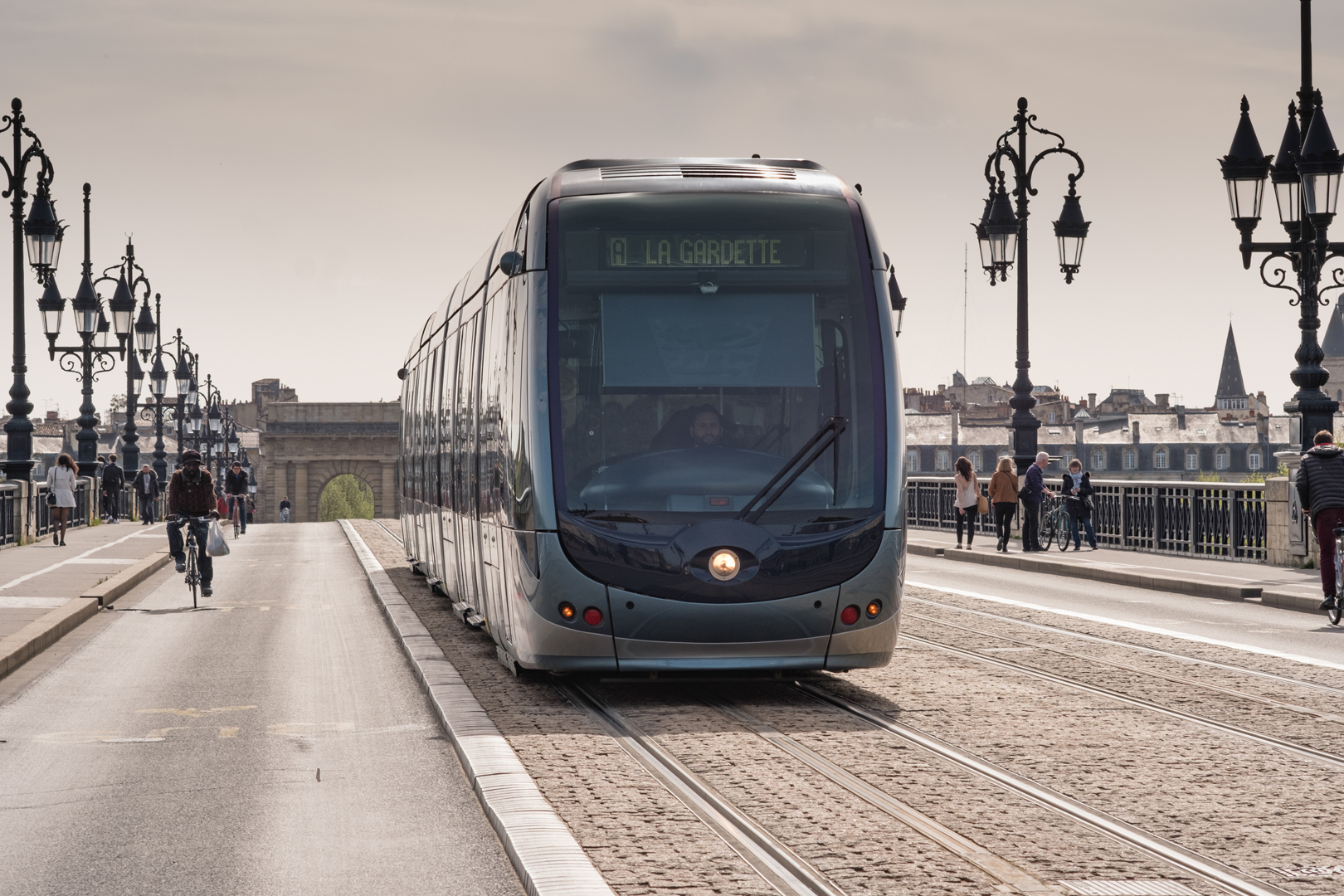 Alstom Citadis tram for Bordeaux