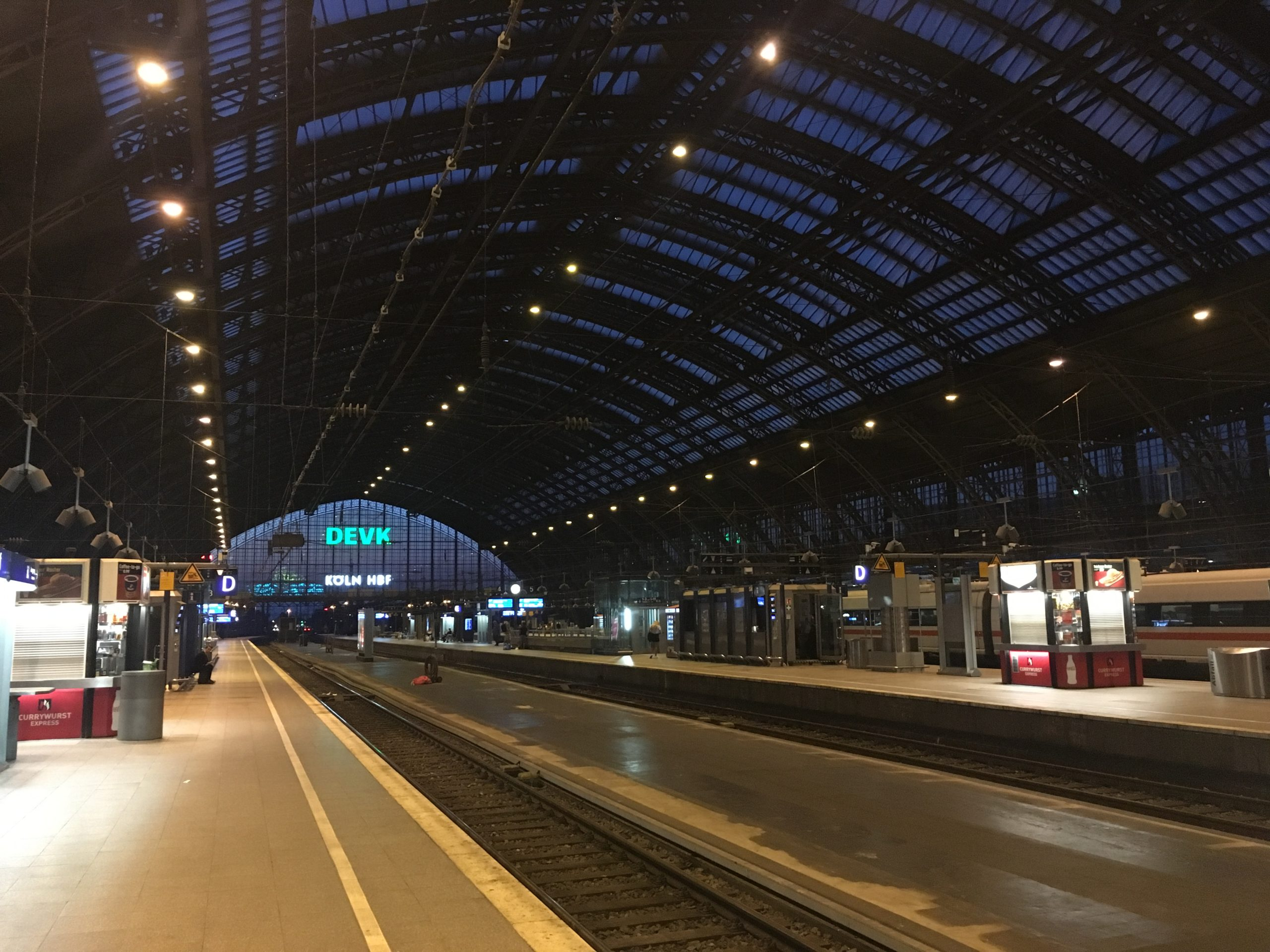 Cologne Central Station in NRW