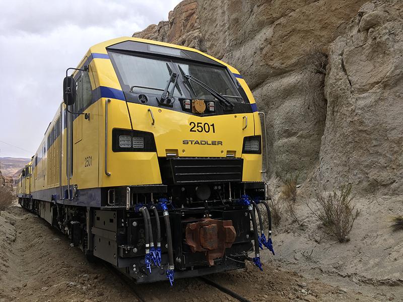 Cummins Stadler Diesel Electric Locomotive