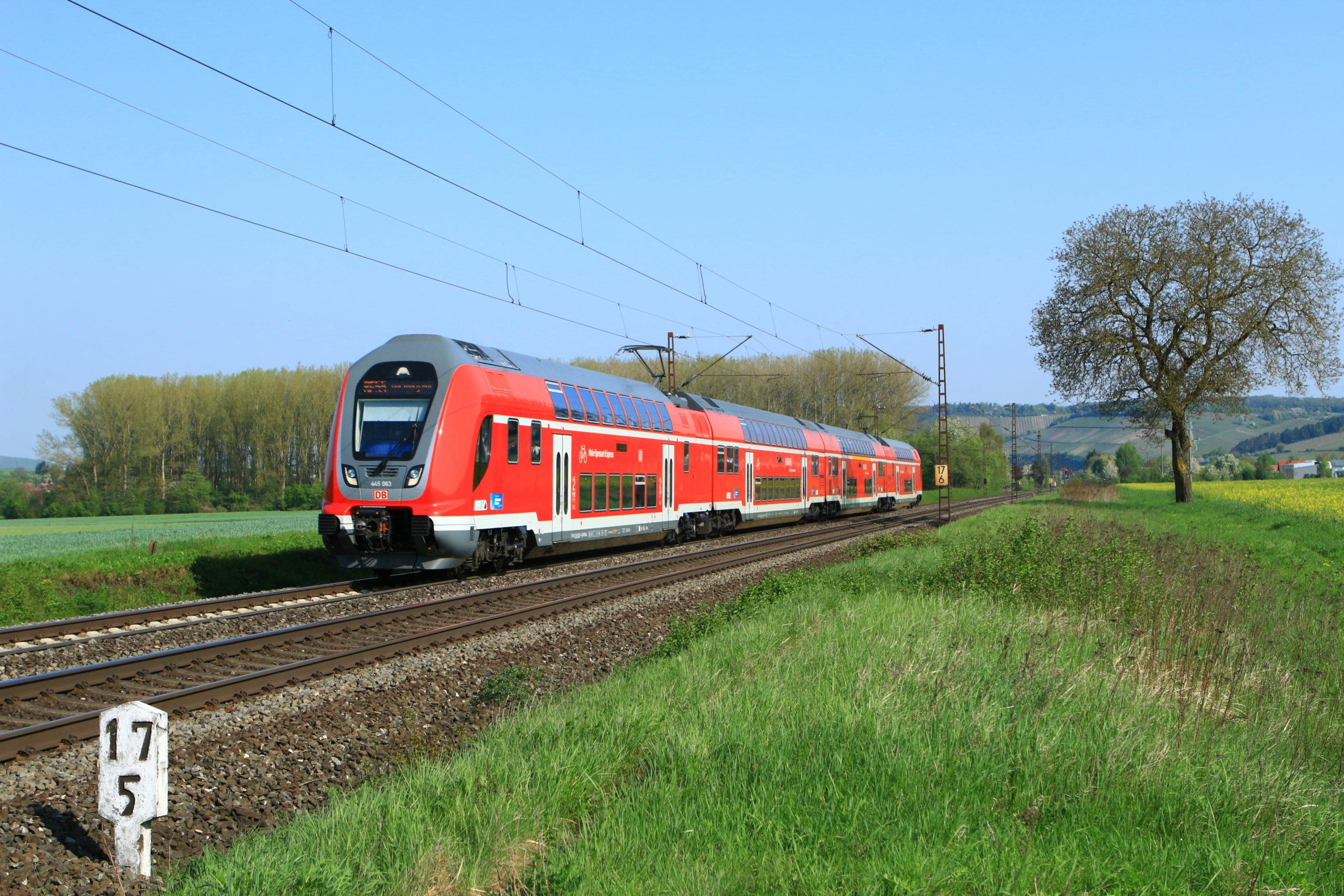 DB Regio Twindexx double-decker train