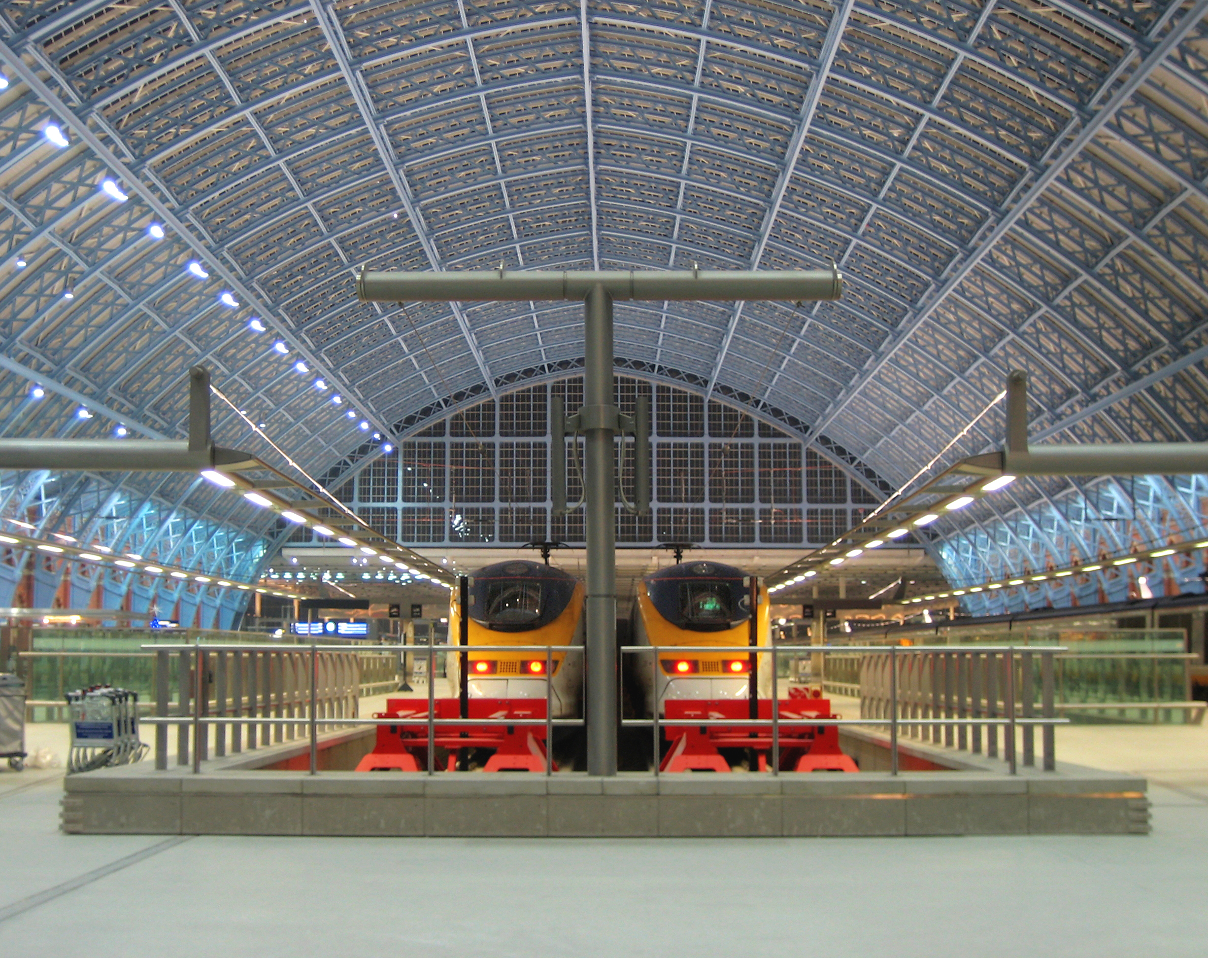 Eurostar at London St Pancras