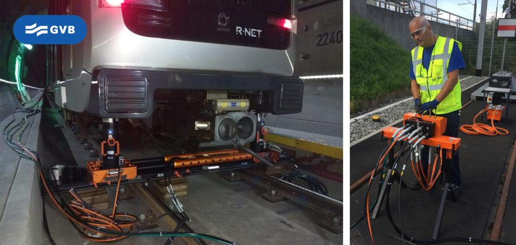 Holmatro Lightweight Rerailing System
