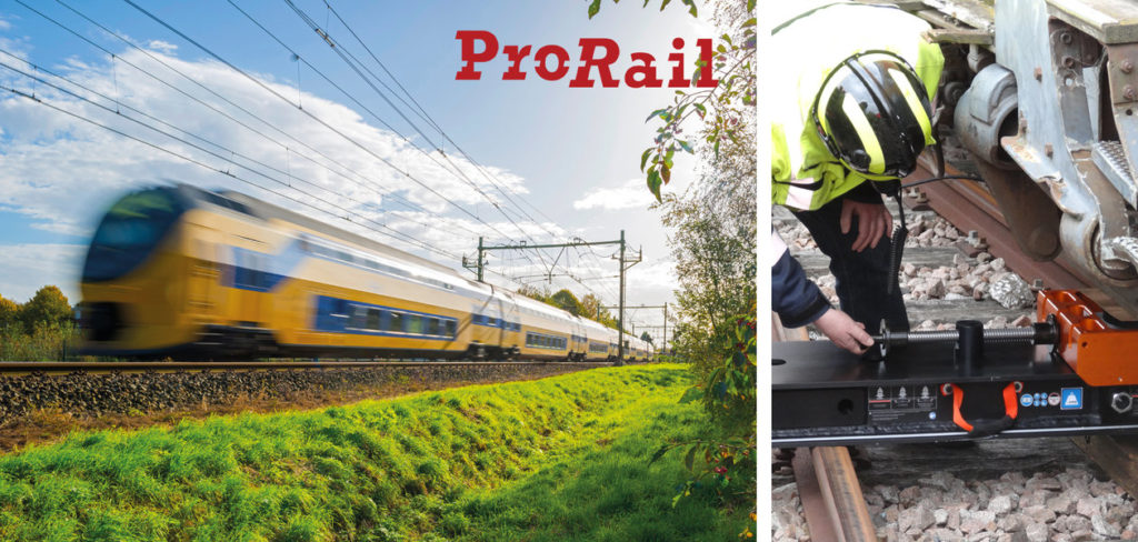 Holmatro re-railing system for ProRail