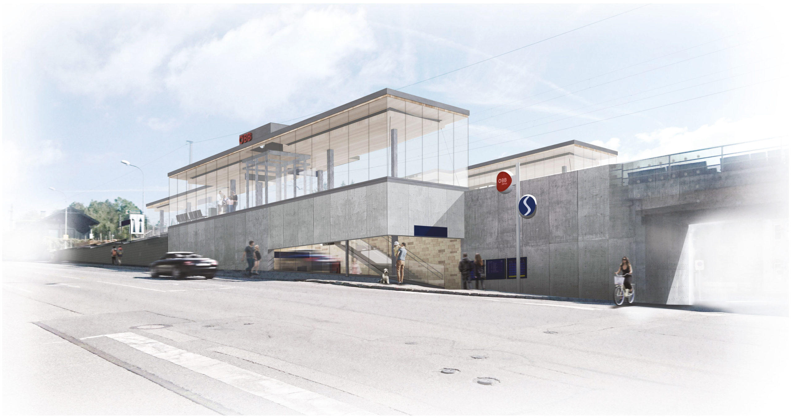 OEBB Neulengbach Station visualisation