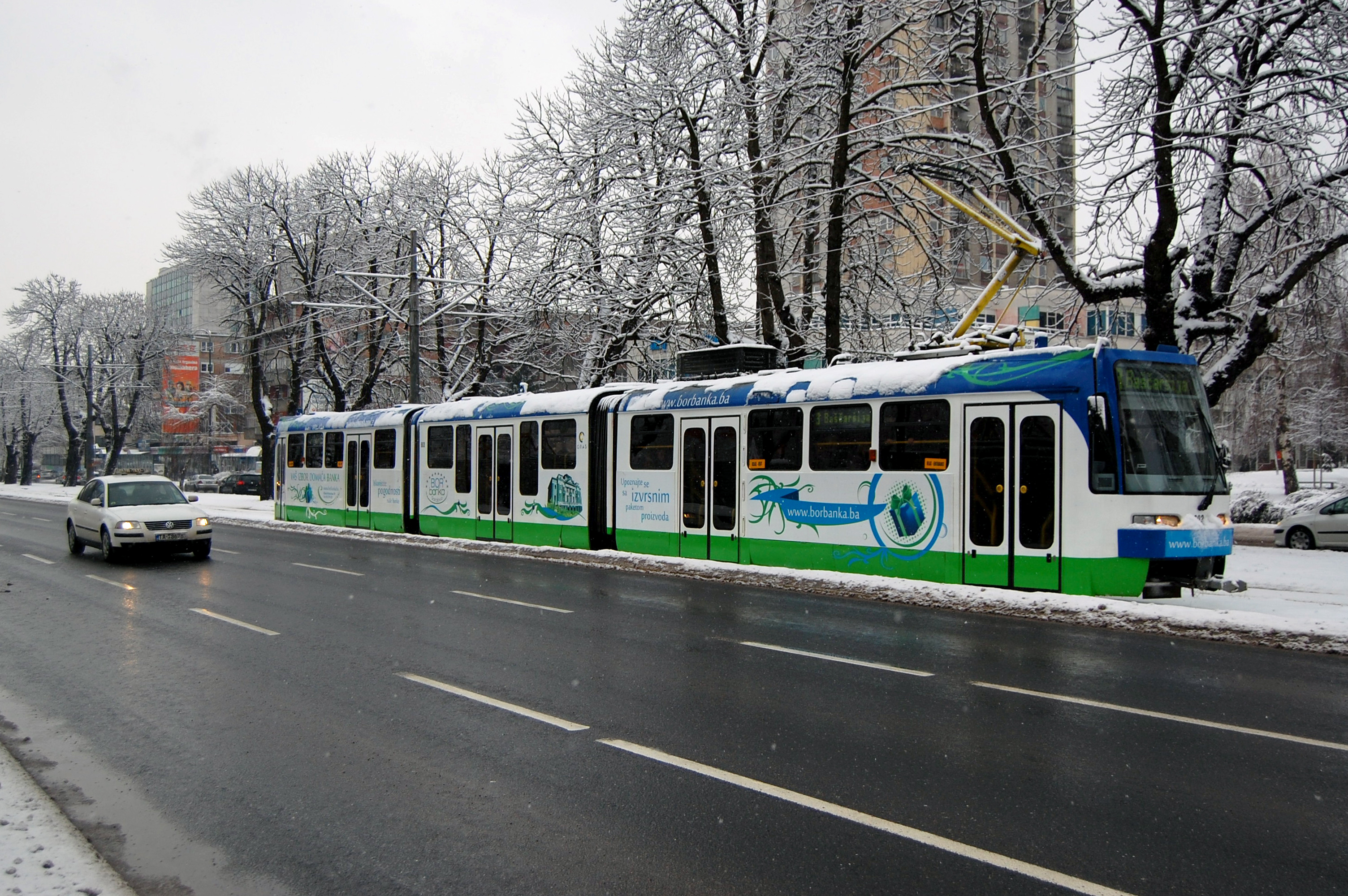 Sarajevo tram