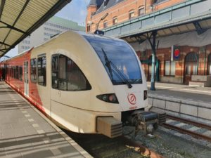 Dutch Premiere: Train with ATO Carries Passengers
