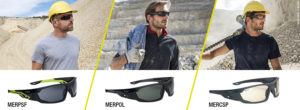 Bollé Safety MERCURO Safety Glasses: 100% Outdoor