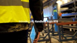 Introducing the Handheld ALGIZ RT8
