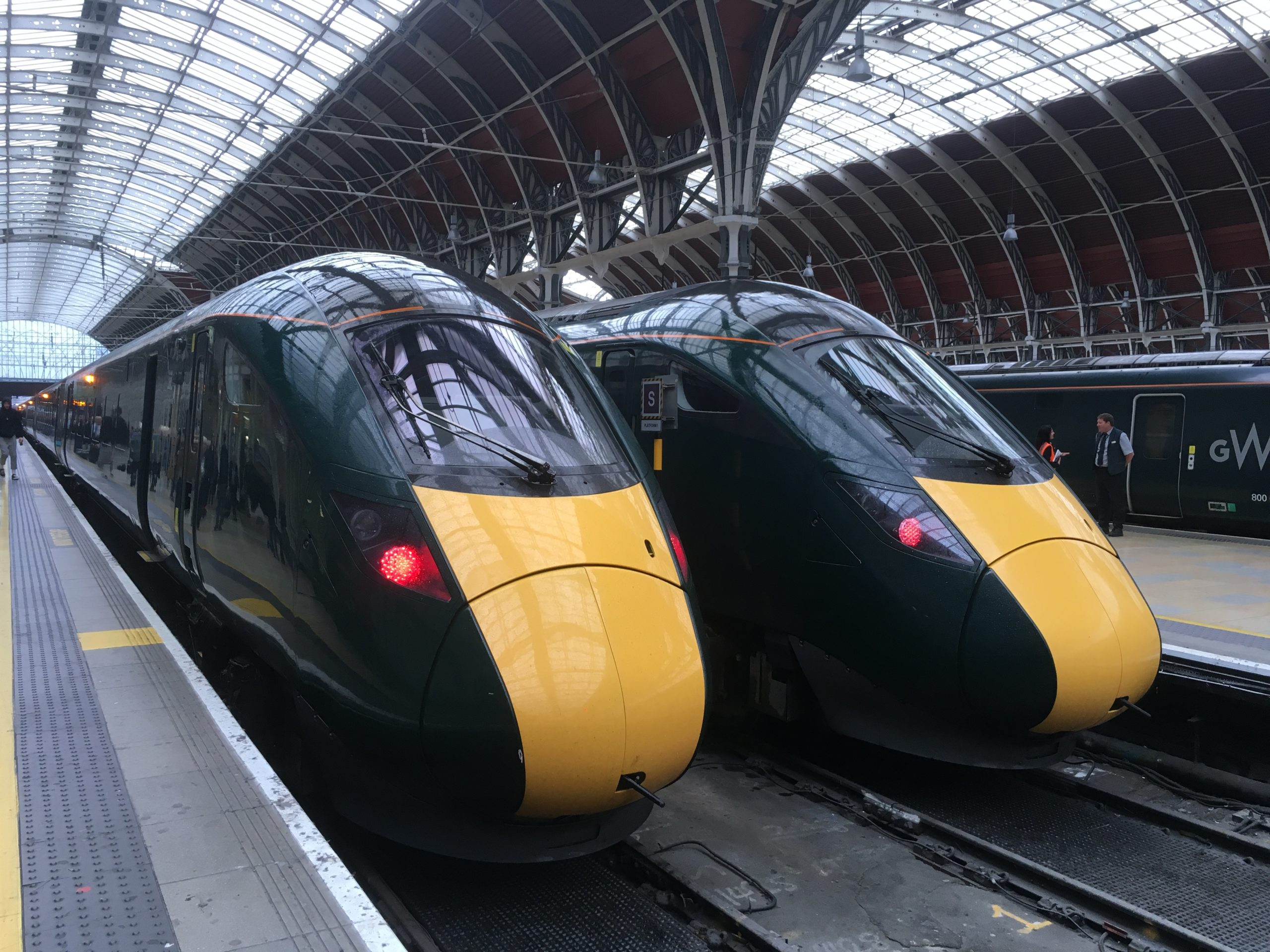 GWR trains in London