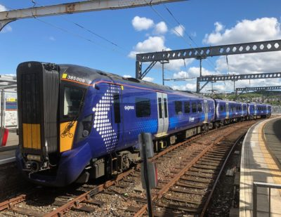 ScotRail First TOC to Publish Real Time Train Data