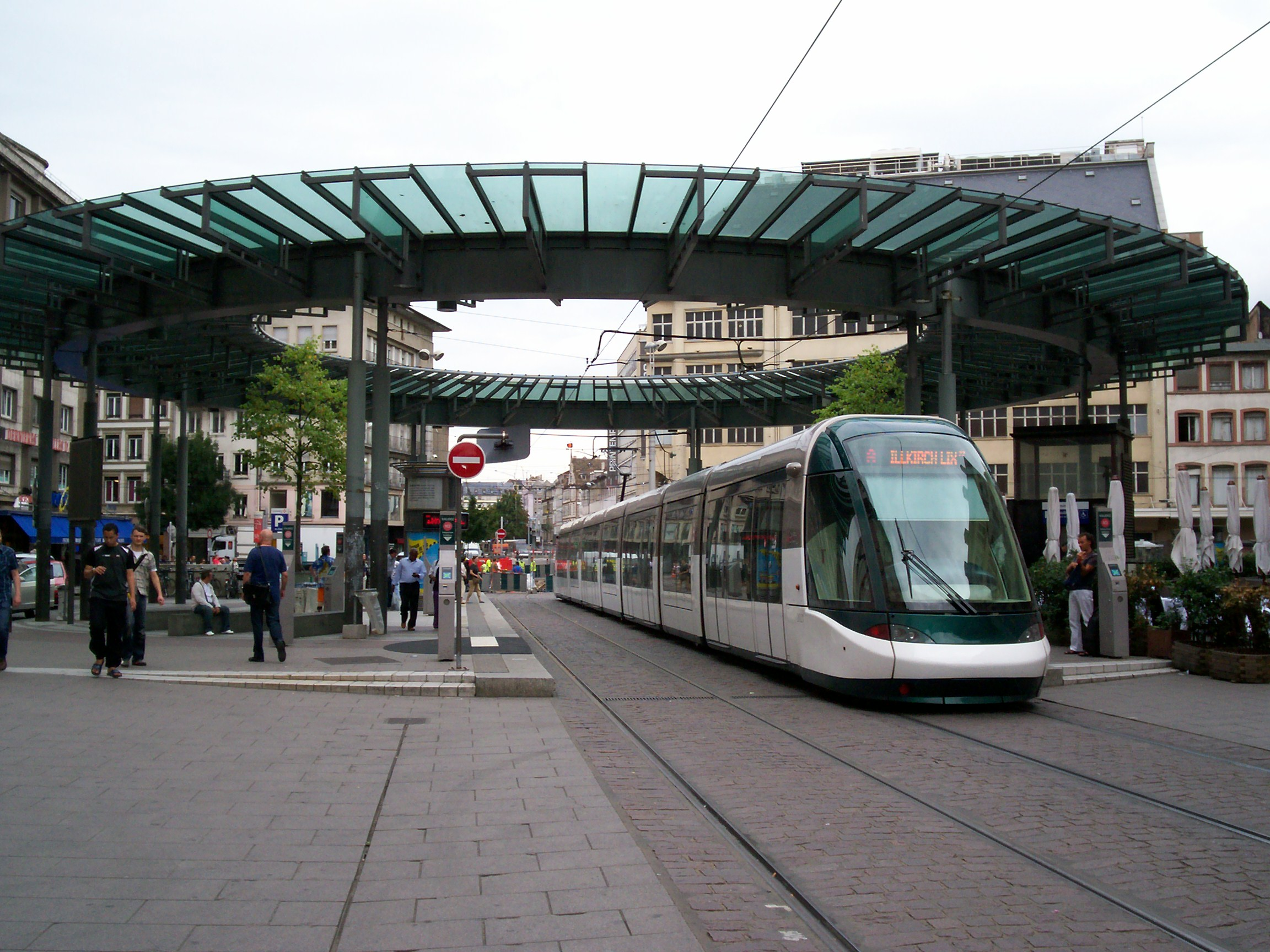 Alstom Citadis tram Strasbourg