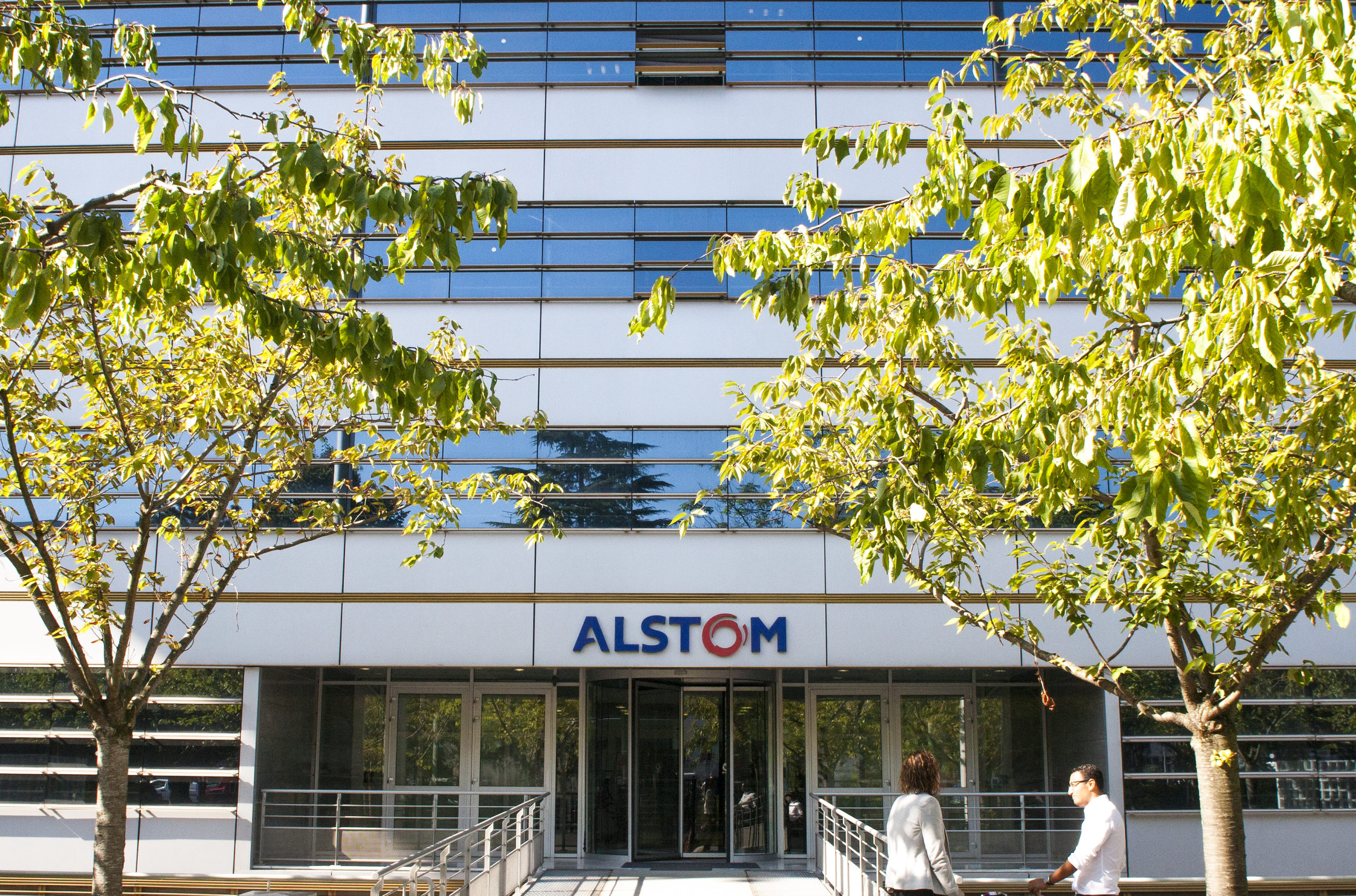 Alstom headquarters in France