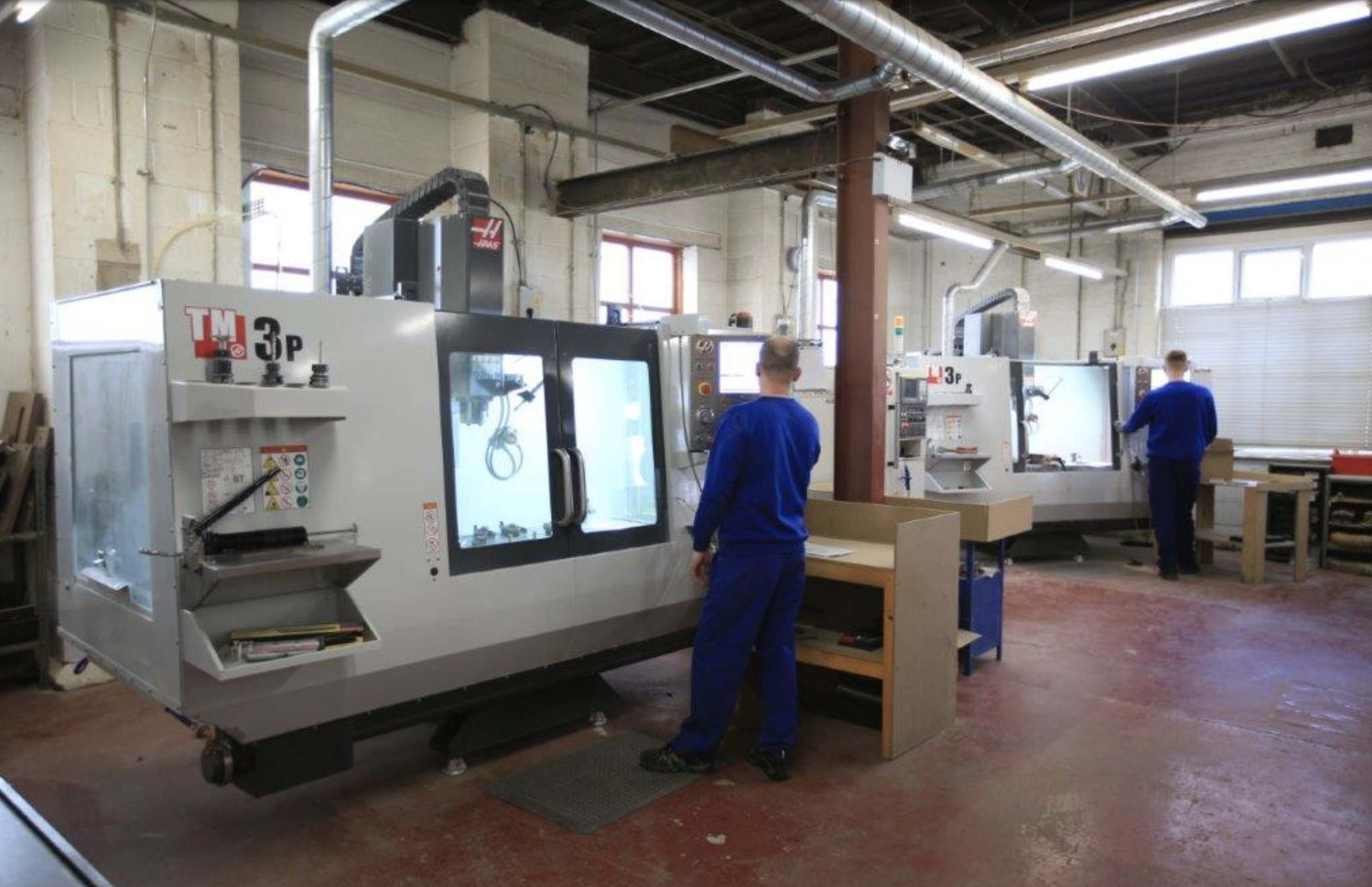 Haas TM-3P Vertical Milling Machines