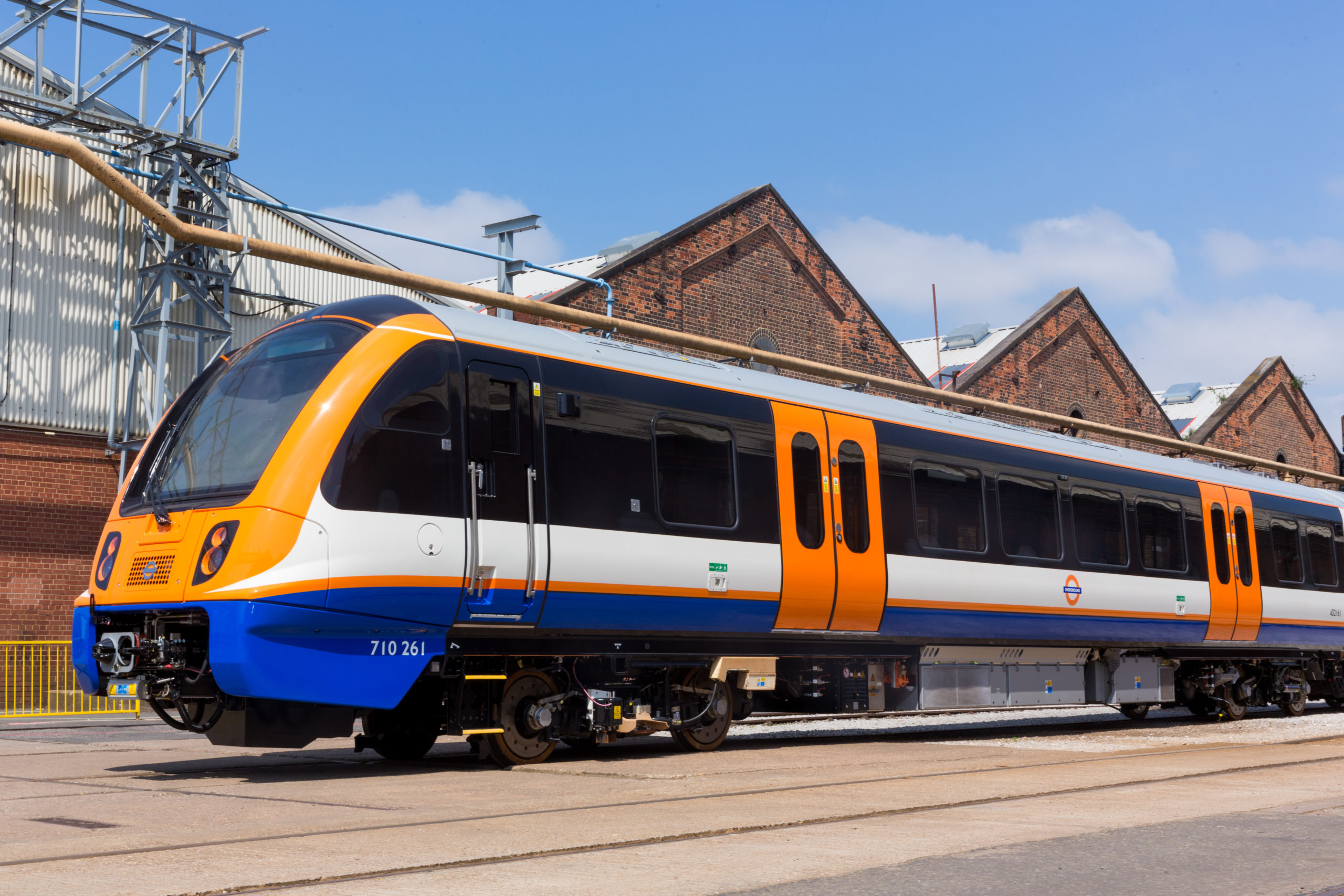 Bombardier Class 710 AVENTRA for London Overground