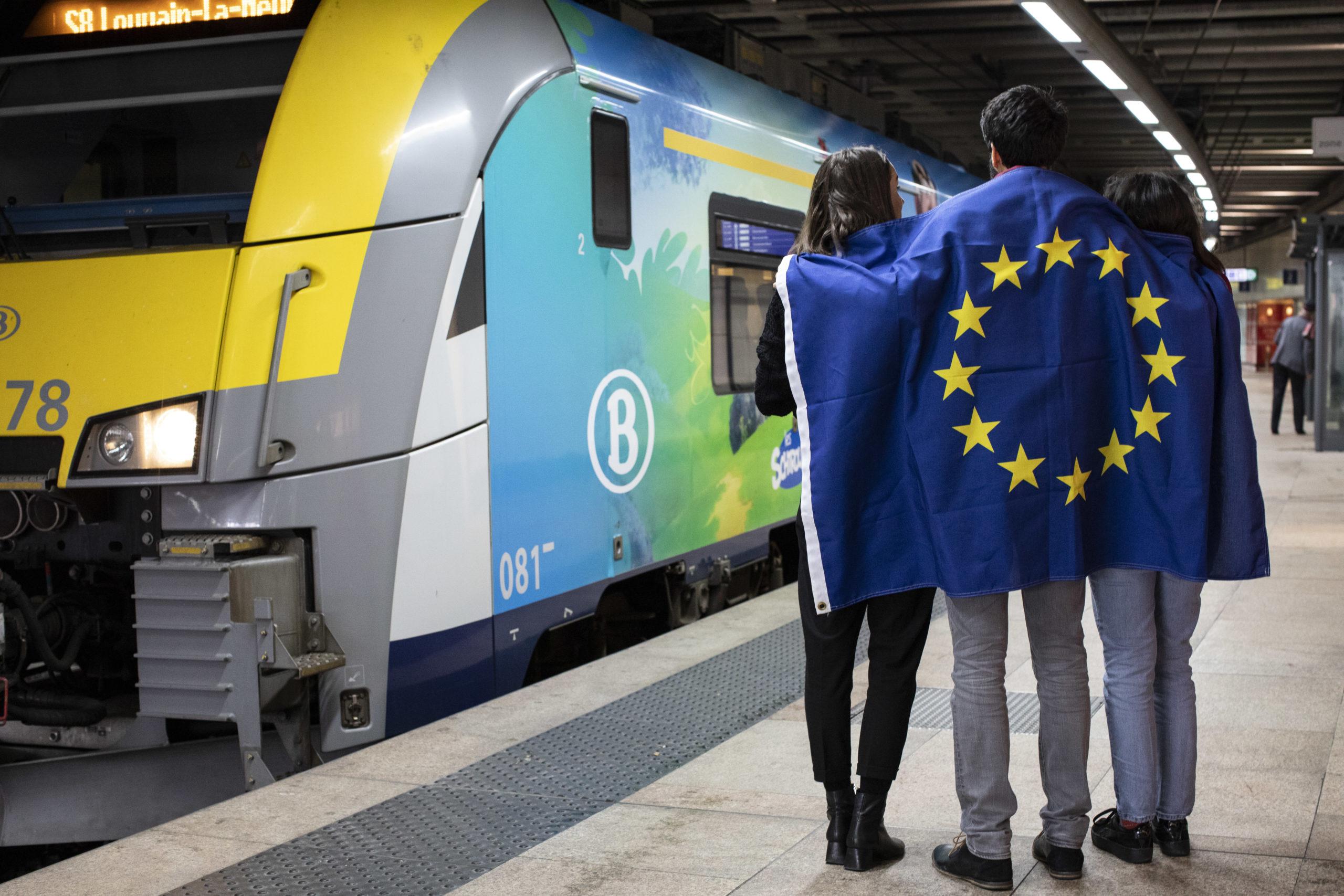 Brussels Schuman Station